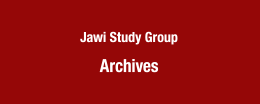 Jawi Study Group Archives